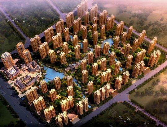 规划图   新城国际花都位于长沙大河西先导区之望城区,项目所