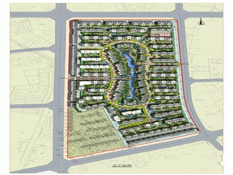 汉唐新城 规划图 高清图片