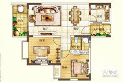 丽冠雅居豪装2房年租4500一个月半年6000一个月