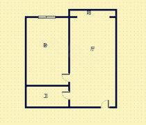 果戈里大亍5楼 一屋一厨 高装1500