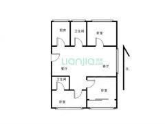新生活家园精装三室 南北通透 拎包入住