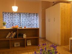 整租,中央花园,1室1厅1卫,55平米