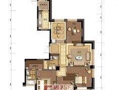 荣安府3室2厅2卫豪装房东自住首租外有多套多户型出租