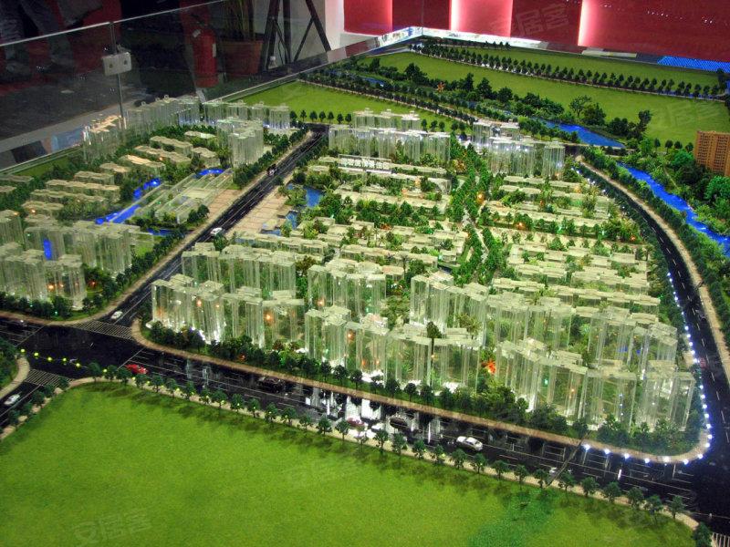 南城超大综合社区 中信新城规划图画报 高清图片