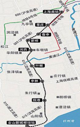 上海轨交22号线_上海地铁22号线的规划- _汇潮装饰网
