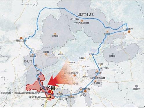 京石第二高速路线图-京石二高速通车在即 天鹅湖成投资热土图片