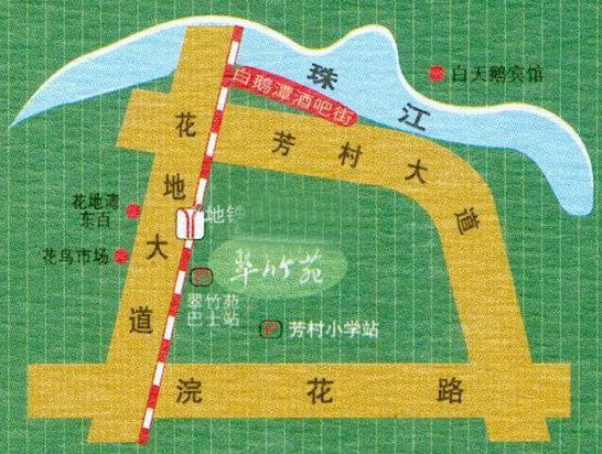 海珠地铁直通芳村 广佛地铁二期沿线受惠楼盘图片
