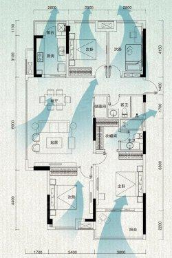 瑞府将133四房做出豪宅范?武汉市简装墙面设计图图片