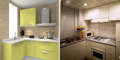 """小小厨房新创意 巧妙设计让厨房变""""大""""图片"""